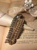 bracelet-swarovski-double-rang-gris-or