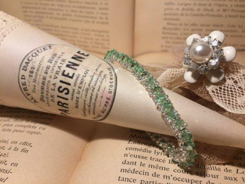 bracelet-swarovski-vert-deau