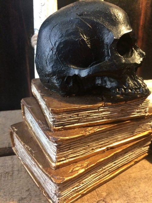 skull tête de mort noire 3