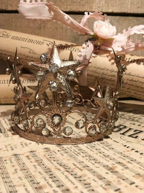 couronne precieuse or perles modèle1 2