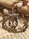 couronne precieuse or perles modèle1 3