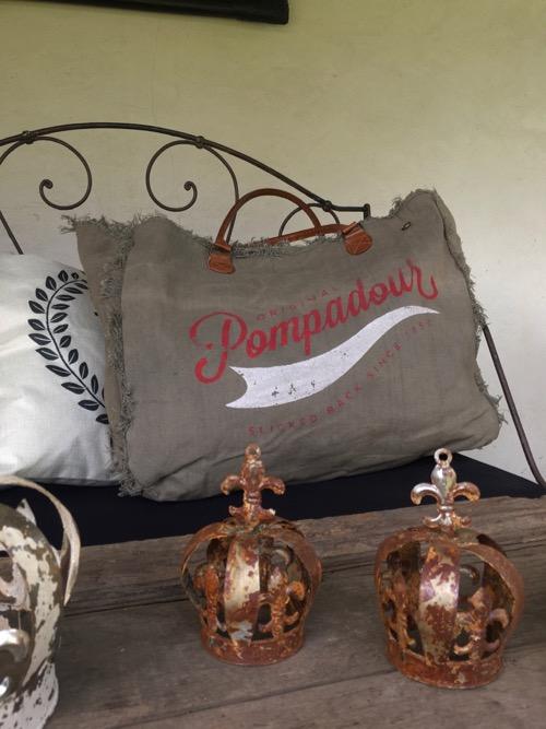 sac toile pompadour