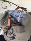sac toile royal noir 4