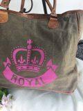 sac toile royal rose 2