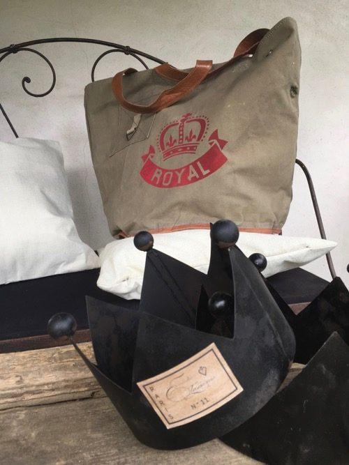 sac toile royal rouge