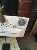 Enveloppe ancienne sur pince givors 11