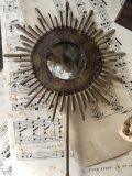 soleil baroque doré miroir louis XVI 3 merci louis
