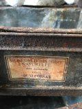 plateau tiroir rangement usine ancien 2