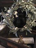 couronne noire style baroque