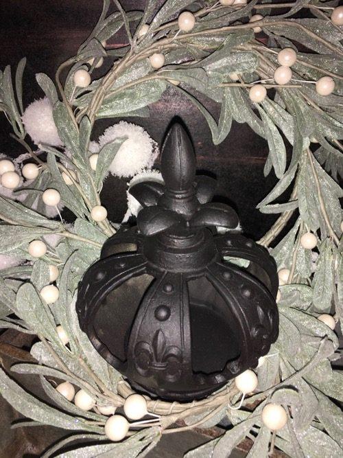 couronne noire style baroque 2