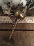 photophore noel cerf sapin en laiton 4